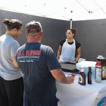 ph adriana serving people